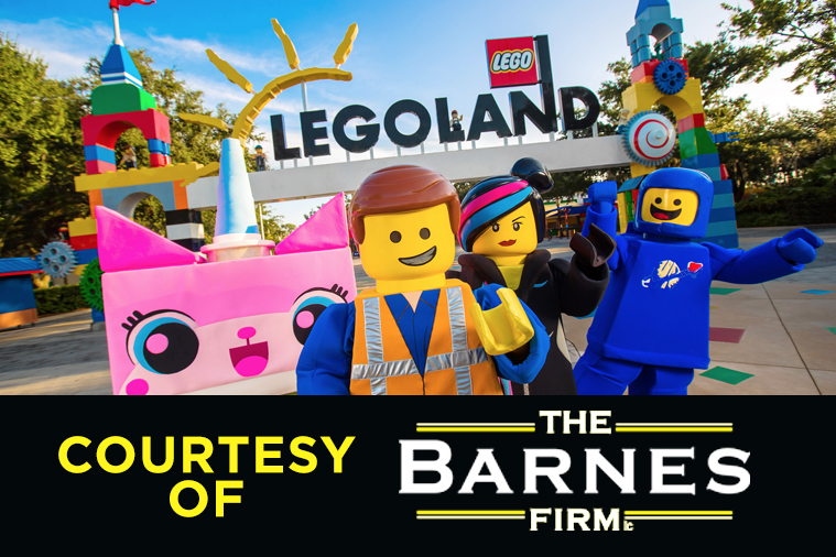 Win Tickets to LEGOLAND California Courtesy of The Barnes Firm - Z90