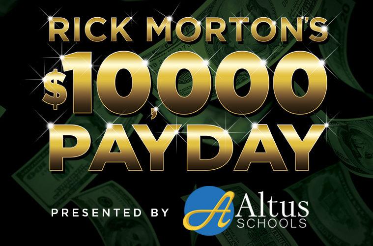 "Z90 (XHTZ-FM 90 3) ""Z90 Morton's $10,000 Payday!"" Official"